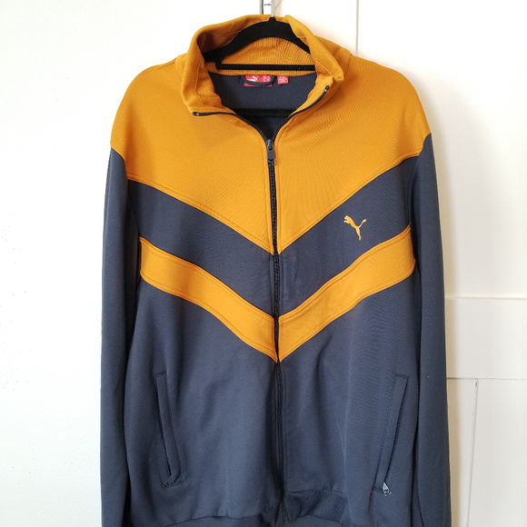 97d85c55a30a1 Vintage early 2000s Puma Track Jacket